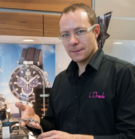 Laurent Lambert, responsable chez L'Orade
